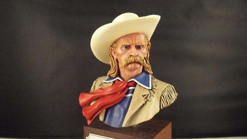 Büste G.A. Custer, ANDREA 1/8 K800_d45