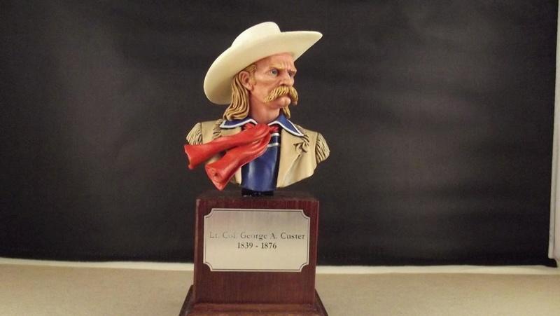 Büste G.A. Custer, ANDREA 1/8 K800_d46