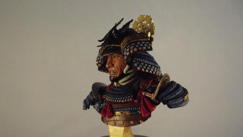 Samurai Büste 1/9, Elite Miniaturas K800_d71