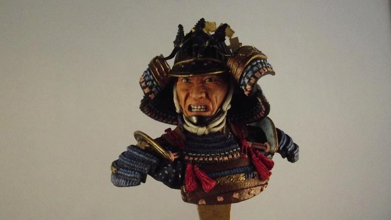 Samurai Büste 1/9, Elite Miniaturas K800_d75