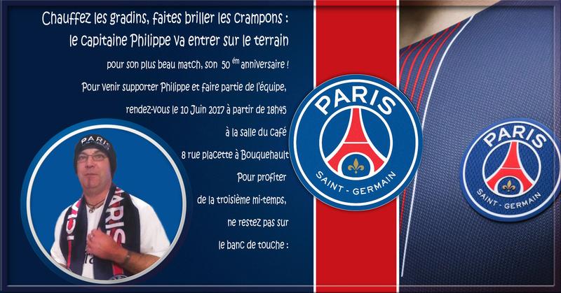 montage anniversaire psg Paris10