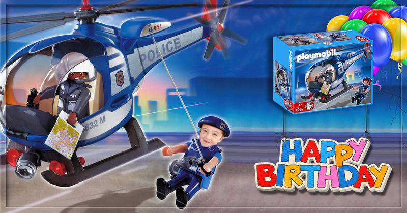 Playmobil police pour un petit fan Playmo10