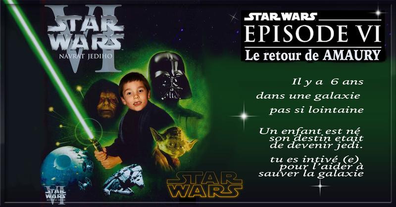 anniversaire de mon fils theme star wars Satrwa10