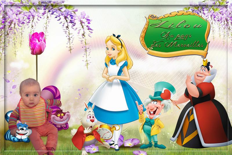 Alice au pays des merveilles  Titre-10