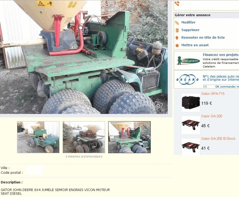 Jumelage roues 6x4 Gator_10