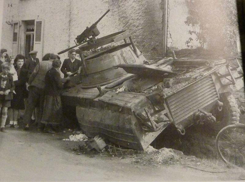 Recherche sur équipage d'un M8 US détruit à Houdrigny,BE 15977211