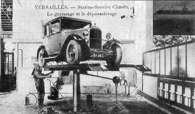 garage citroen traction Statio10
