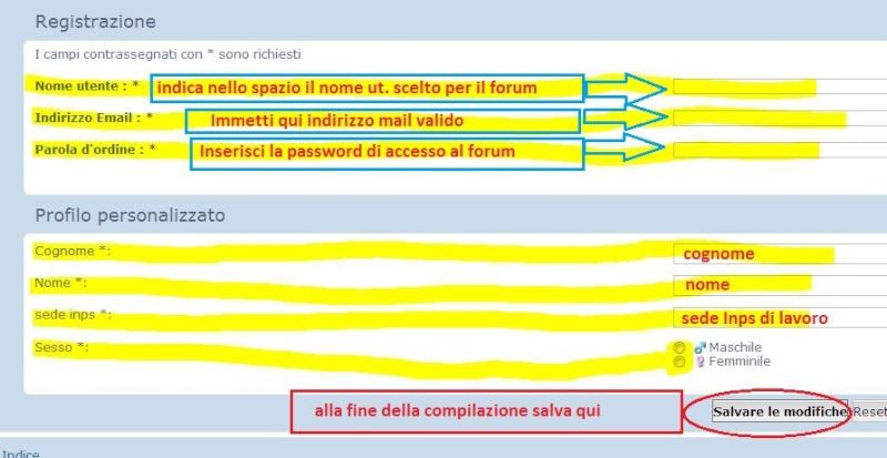 Come iscriversi al Forum ANMEFI Iscriz11