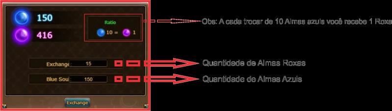 Tutorial como utilizar o sistema de Almas 1110