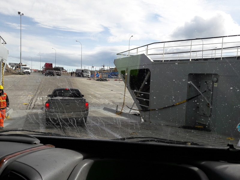 Le 01 .11.2016  CHILI passage de notre 33ème frontière  R2611