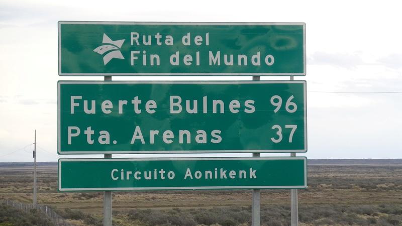 Le 01 .11.2016  CHILI passage de notre 33ème frontière  R312