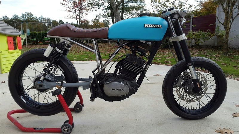 HONDA 250 XLS 1982 Cafe Racer - Page 3 20161117