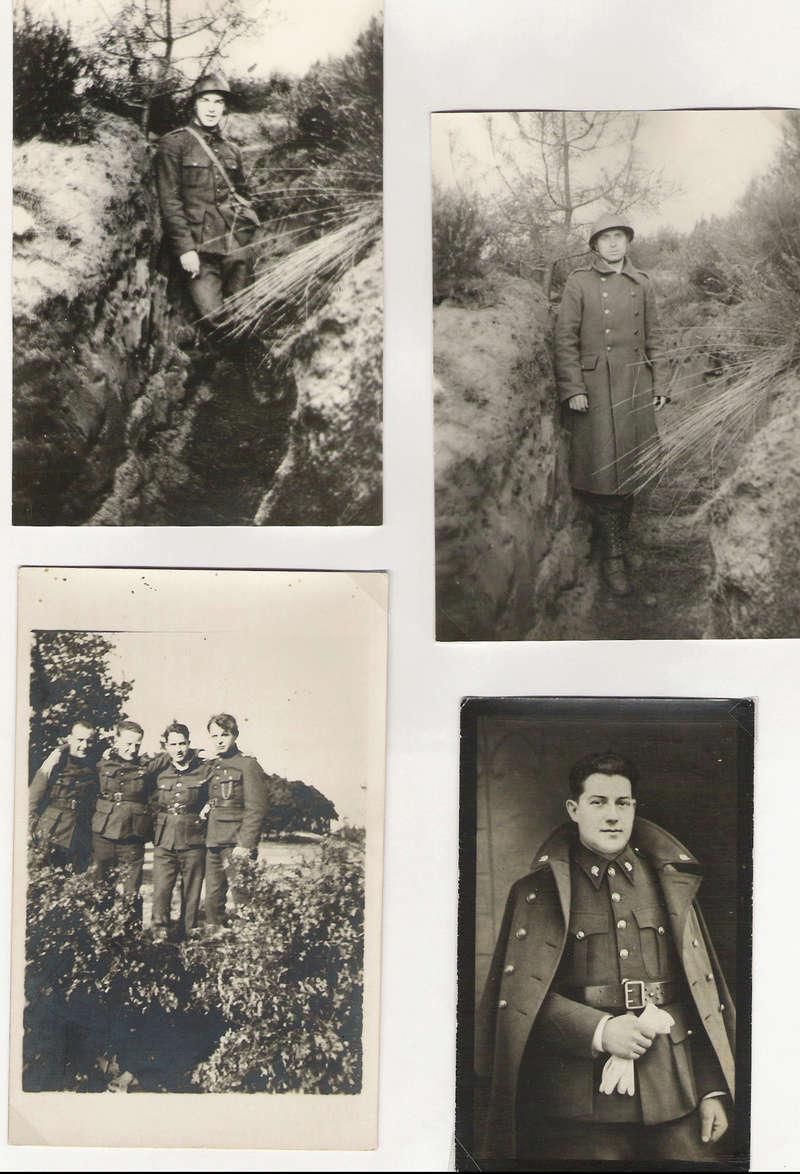 diverses tenues de campagne armée belge mai 40 Numyri22