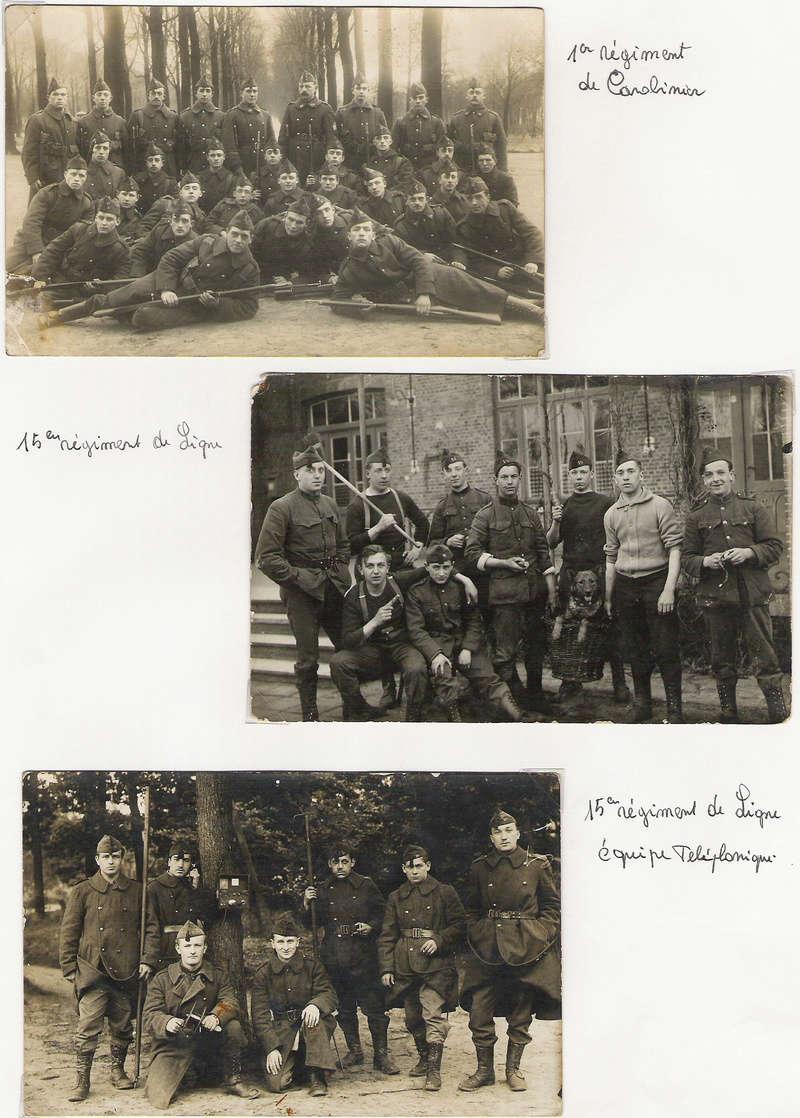 diverses tenues de campagne armée belge mai 40 Numyri23