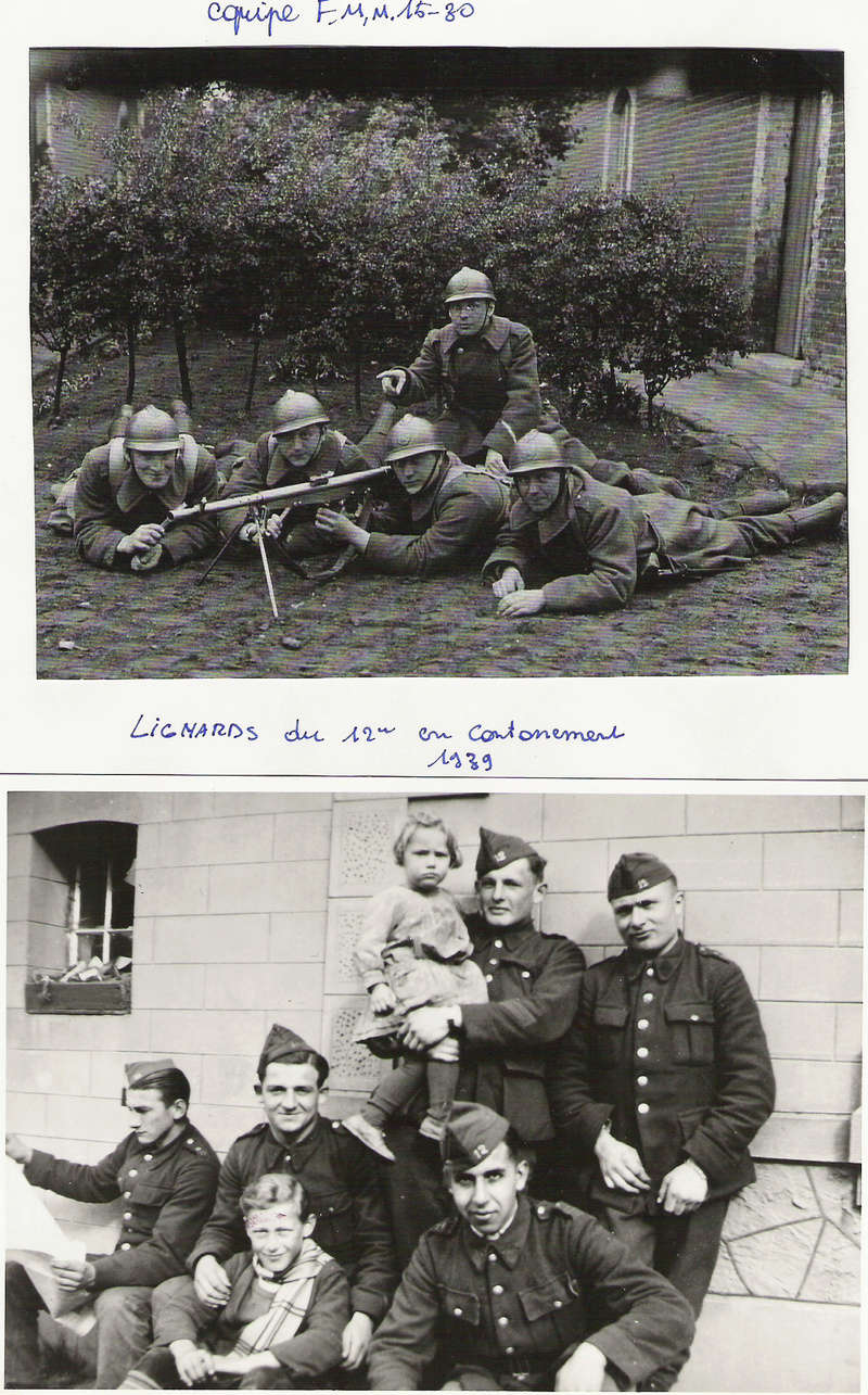 diverses tenues de campagne armée belge mai 40 Numyri24