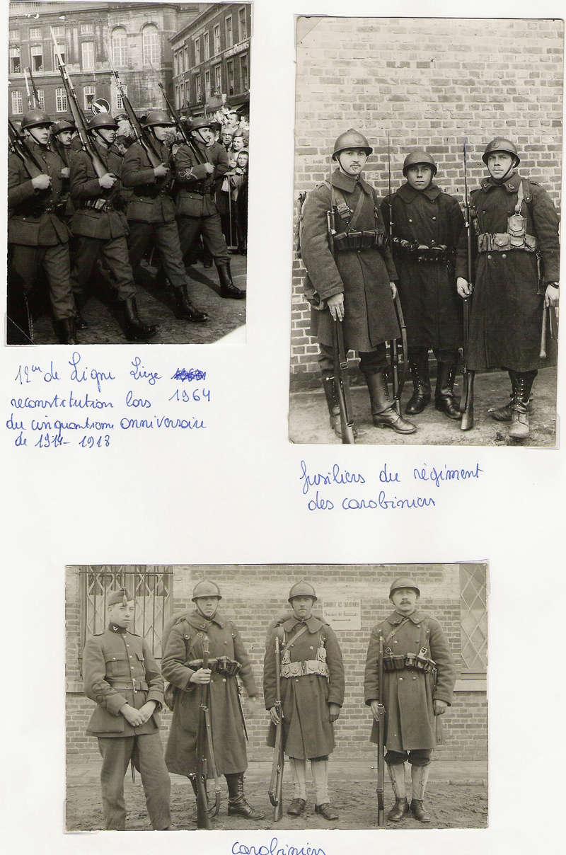 diverses tenues de campagne armée belge mai 40 Numyri25