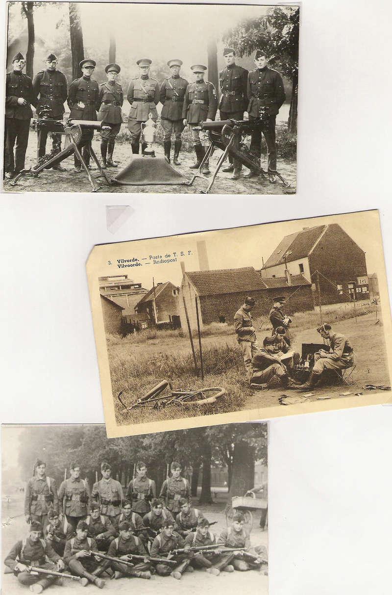 diverses tenues de campagne armée belge mai 40 Numyri26