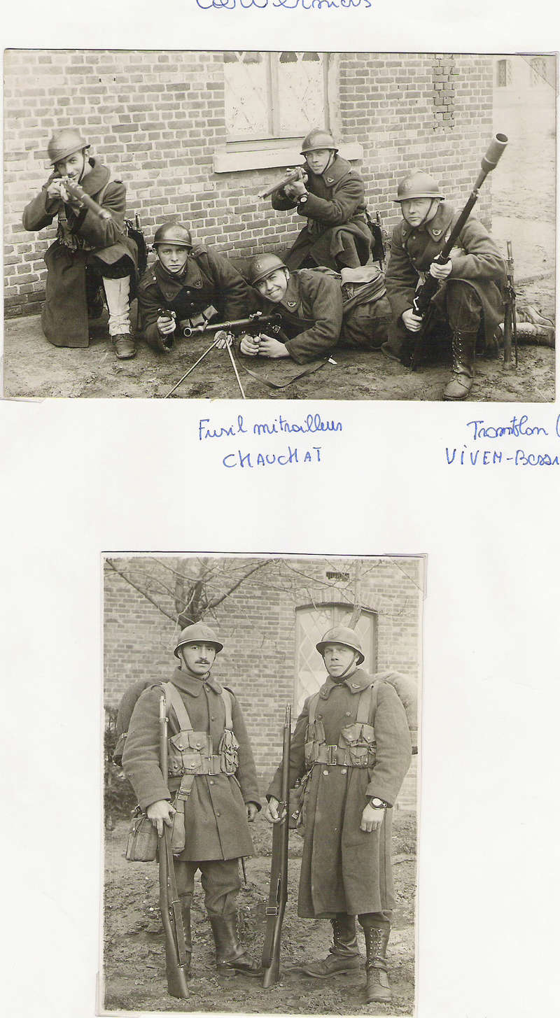diverses tenues de campagne armée belge mai 40 Numyri27