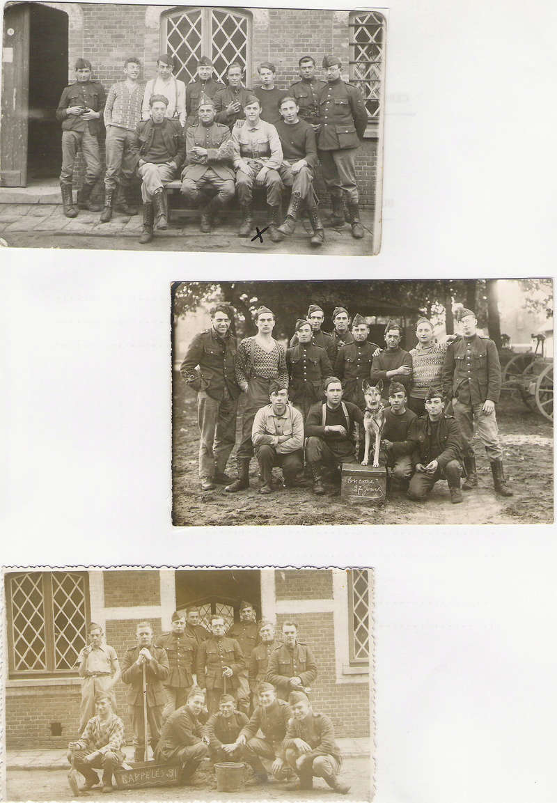 diverses tenues de campagne armée belge mai 40 Numyri30