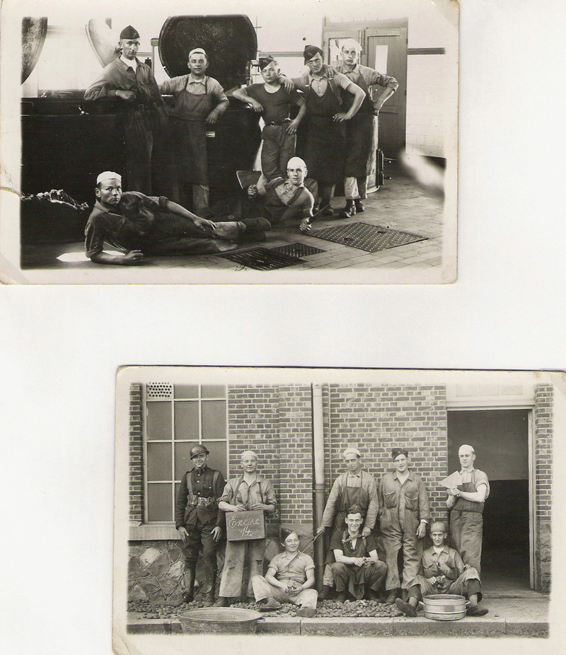 diverses tenues de campagne armée belge mai 40 Numyri32