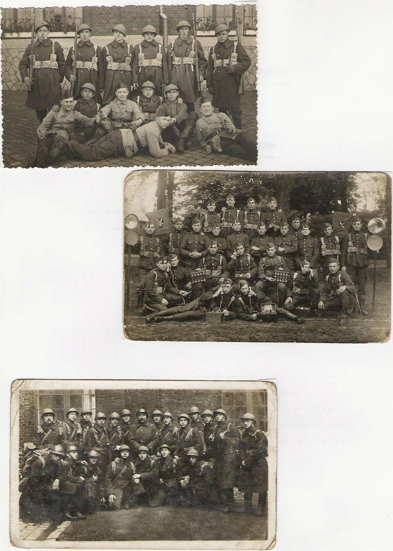 diverses tenues de campagne armée belge mai 40 Numyri34