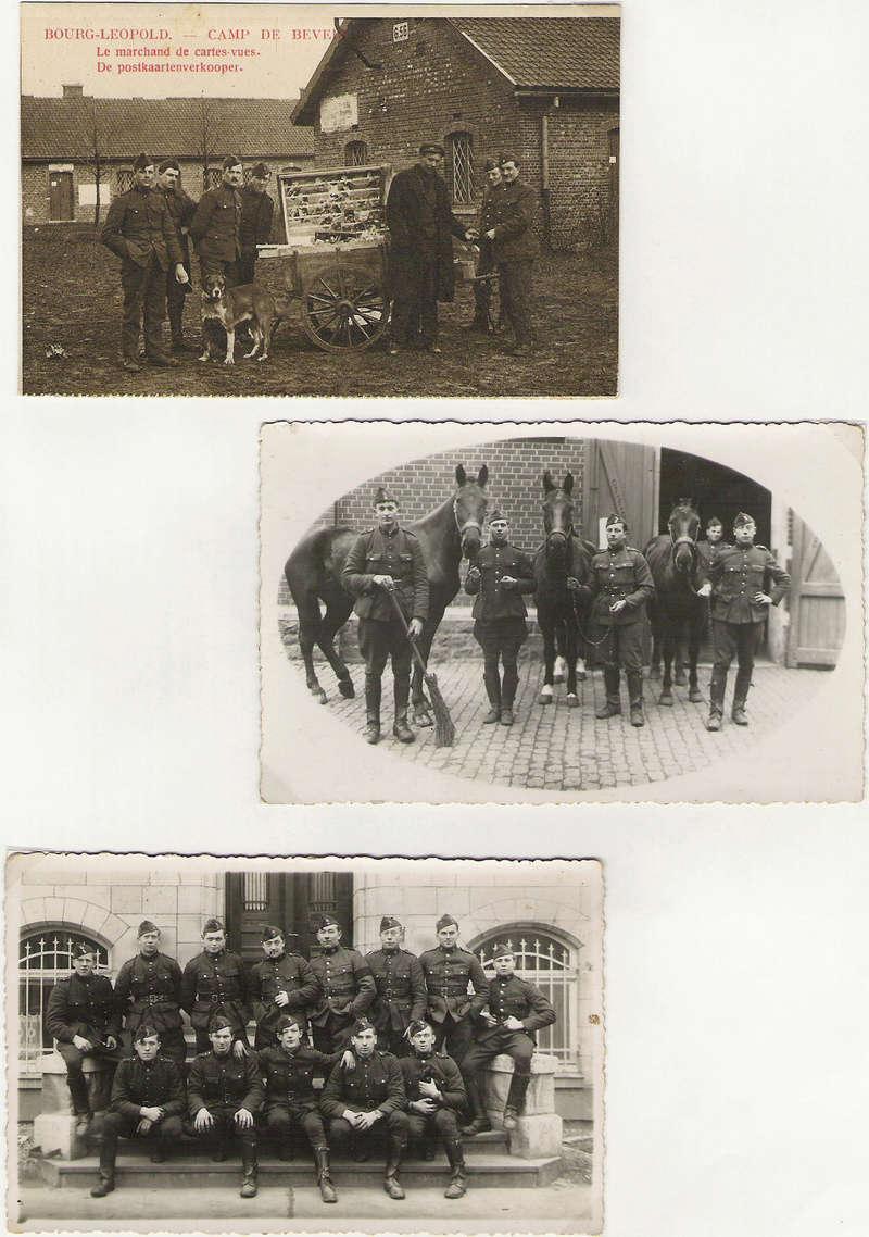 diverses tenues de campagne armée belge mai 40 Numyri37