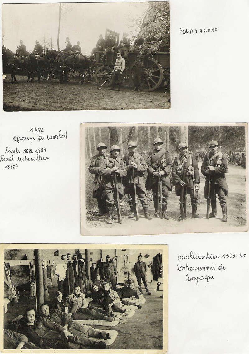 diverses tenues de campagne armée belge mai 40 Numyri42