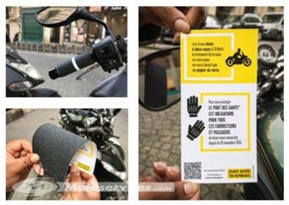 opération papier de verre sur les motos et scooters Captur21