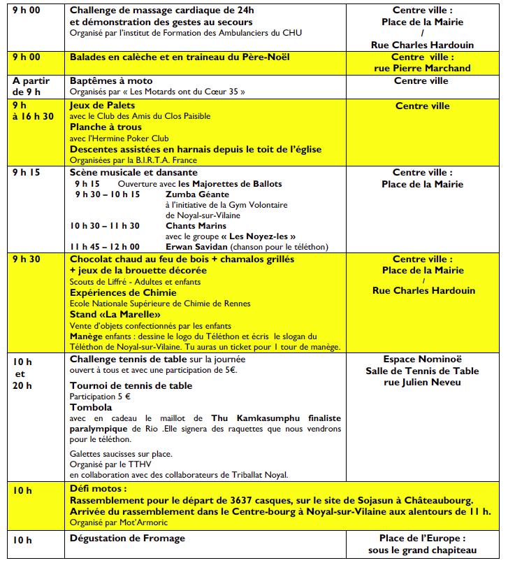 Participation Téléthon Noyal sur Vilaine (35) le 03 Décembre 2016 Captur29