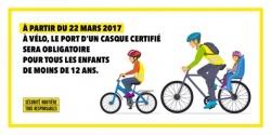 Casque obligatoire pour les enfants à vélo Casque18