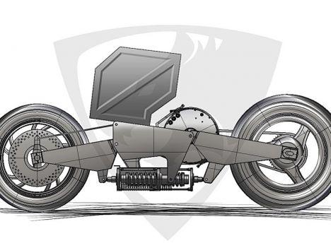 'Fenris' La superbike électrique suédoise en route... Fenris10