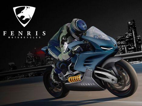 'Fenris' La superbike électrique suédoise en route... Fenris12