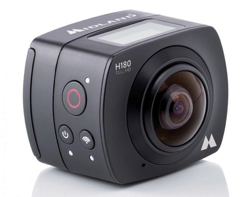 CAMÉRA H360 MIDLAND POUR FILMER À 360° H360-310
