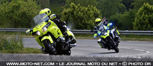 Les motos SAMU Moto-s11
