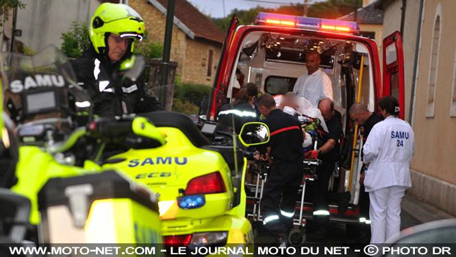 Les motos SAMU Moto-s12