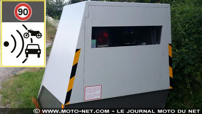 Nouveaux panneaux pour annoncer les radars automatiques Radar-10