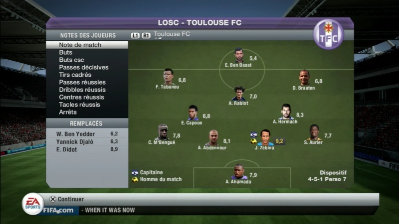 Lille 0-2 Toulouse Fifa_243