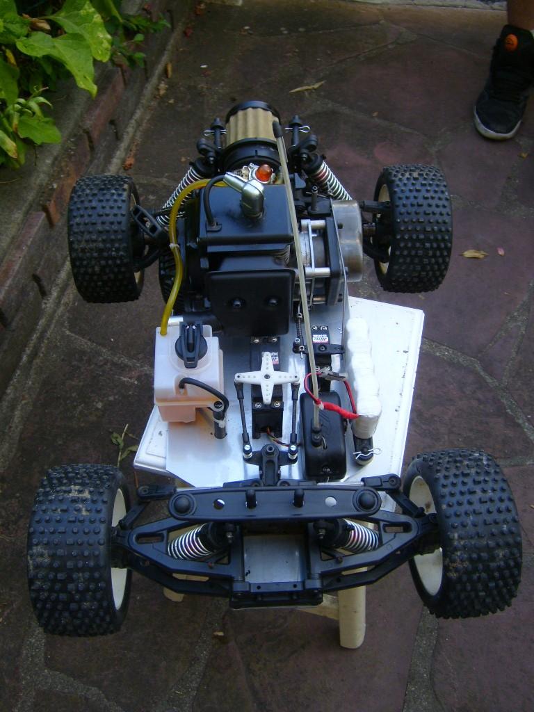 1/8 short course apache sc gasoline moteur zenoah g 260 rc  S7009019