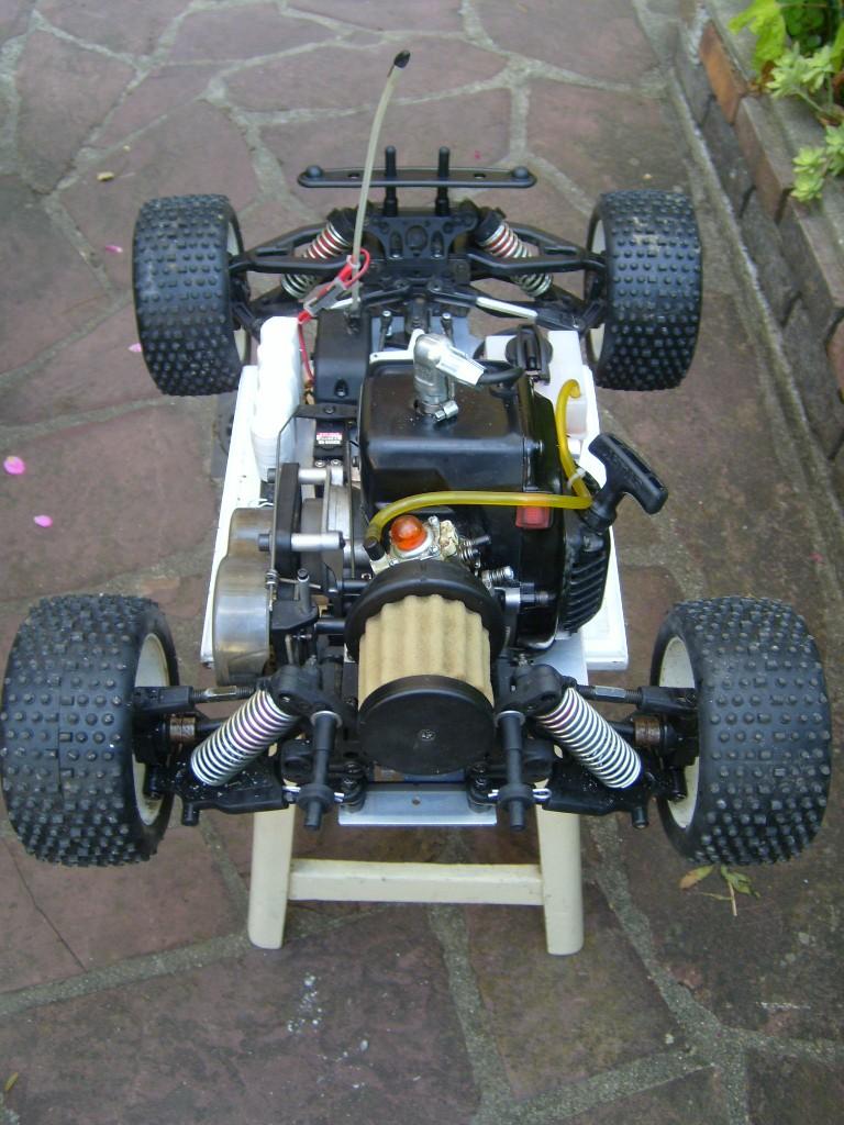 1/8 short course apache sc gasoline moteur zenoah g 260 rc  S7009114