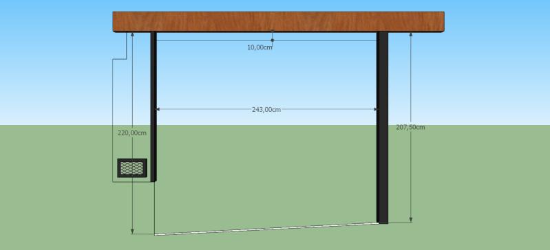 trabajo - [Resuelto] Cómo hacer un portón levadizo - Página 3 7je10