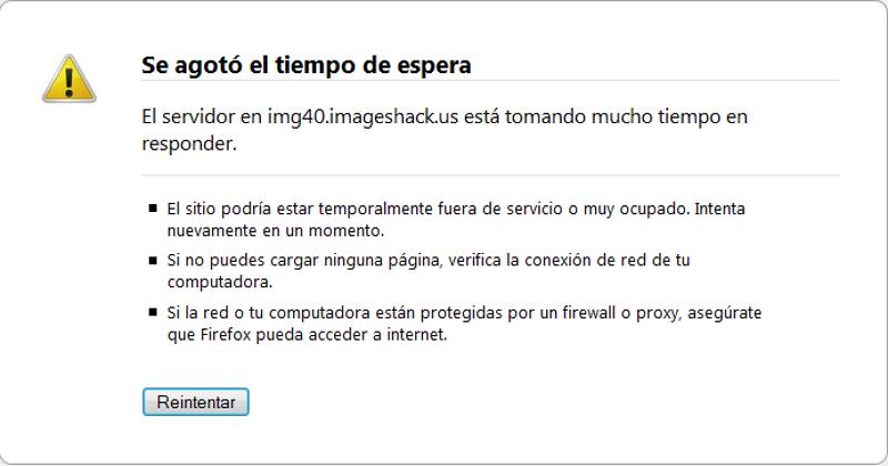 ¿Problemas con ImageShack? Comenta cuáles, o cómo son Google10