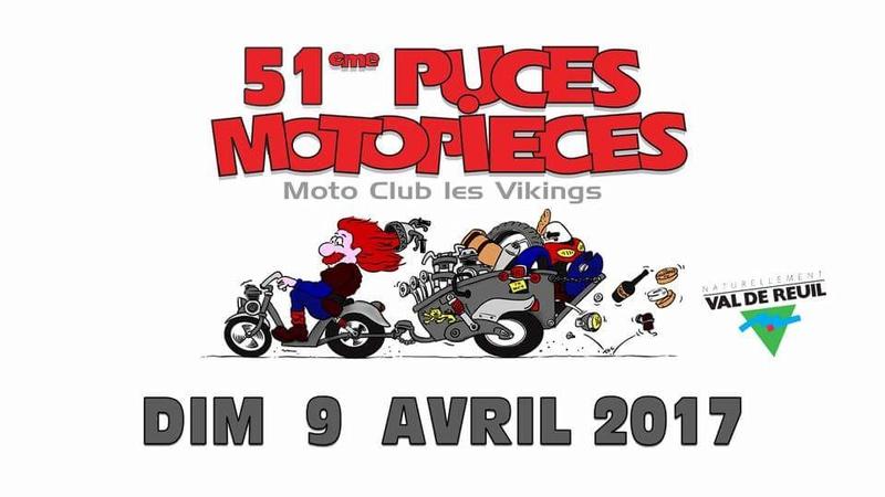 Puces moto des vikings 16406510