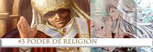 #3 Poder de Religión
