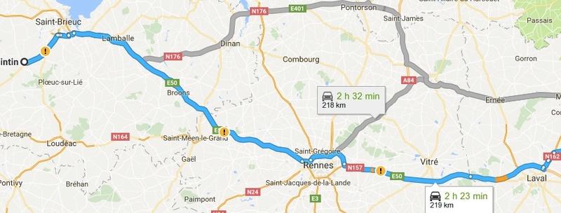 recherche Co voiturage de Rennes à St Brieuc  pour vendredi au plus tard pour un tout petit chien  Quinti10