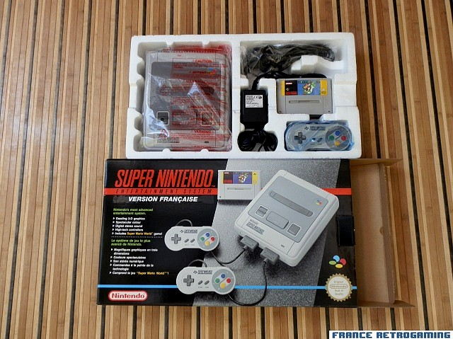 le pack super nintendo Mario World  Super-10