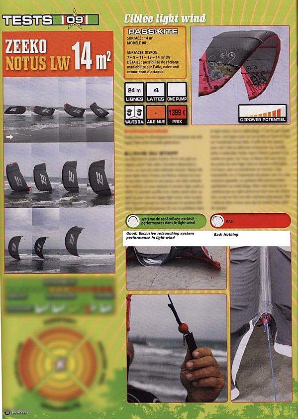 Quelles ailes boudin de 10/12 m2 redécollent en foil ? - Page 3 Testno10