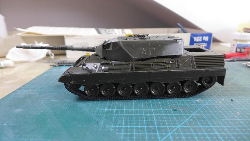 Leopard 1A4 von Italeri in 1:35 P1050818