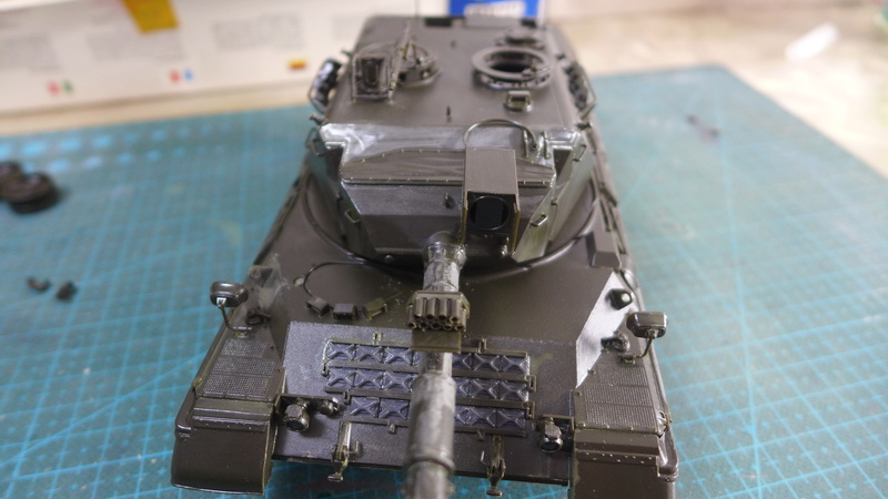 Leopard 1A4 von Italeri in 1:35 P1050822