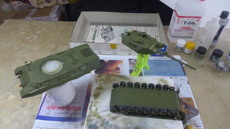 Leopard 1A4 von Italeri in 1:35 P1050832