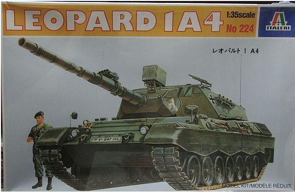 Leopard 1A4 von Italeri in 1:35 Schach10